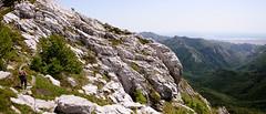Man and canyon I (ir0ncevic) Tags: park summer hot green nature outdoors spring outdoor hiking croatia sunny canyon national paklenica planinarenje velebit struge vaganskivrh nppaklenica junivelebit stradbenica