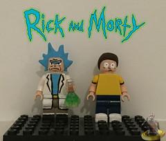 Custom Lego Rick and Morty (AntMan3001) Tags: lego rick custom morty minifigures