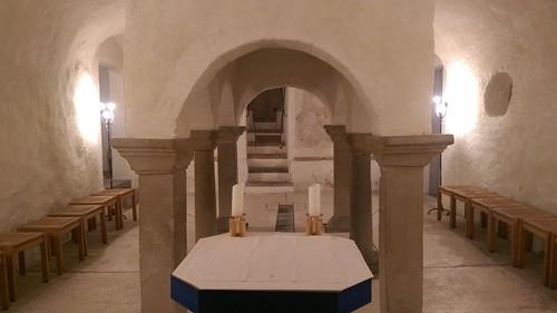Krypta Pfarrkirche St. Mang