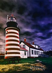West Quaddy Light House Stormy Weather (☺♥ julev69 ♥☺ 1,925,000+ Views- THANK YOU!) Tags: fall nature architecture landscape photographer cloudy ominous maine stormy historic september mothernature lubec landscapephotography westquaddy abovealltherest julev69 julieeverhart