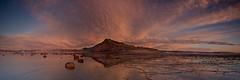 Long Reef Sunrise Pano (RoosterMan64) Tags: longexposure seascape colour reflection clouds sunrise au sydney australia nsw newsouthwales longreef collaroy rockshelf leefilters