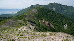 Sado Trekking (bamboo_sasa) Tags: mountain japan trekking island spring hiking 日本 niigata 山 sado 春 新潟 佐渡 登山 佐渡島