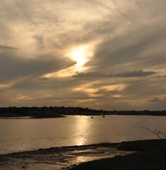 Reflecting Light (amanda.parker377) Tags: sunlightonwater essex heybridgebasin cloudformations beautifulskies riverblackwater