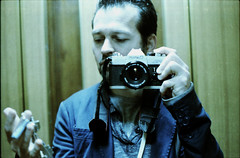 fake portrait (Luca Scarpa) Tags: portrait selfportrait film self 35mm canon