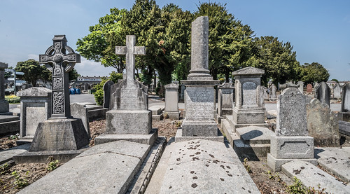 MOUNT JEROME CEMETERY AND CREMATORIUM IN HAROLD'S CROSS [SONY A7RM2 WITH VOIGTLANDER 15mm LENS]-117084