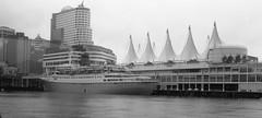 Sagafjord in Vancouver BC (kenyoung3) Tags: oceanliner cruiseship sagafjord cunard vancouver canadaplace