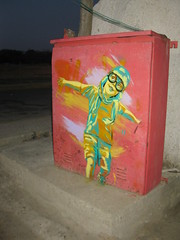 Fly in margarita (D11 Urbano) Tags: boy art girl poster stencil arte venezuela nios caracas margarita urbano venezolano arteurbano d11 streetartvenezuela artvenezuela d11streetart arteurbanovenezuela d11art d11urbano