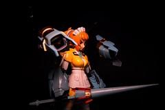 Super Fumina: kitbash. (jaqio) Tags: anime mobile japan model arms painted super suit frame kit fighters try custom build gundam kotobukiya bandia fumina