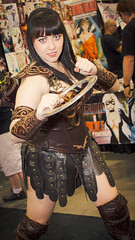 PHXCC 2016 - Saturday_0060 (Florentino Luna) Tags: phoenix arizona comicon convention center phxcc phxcc2016 cosplay canon t5 1200d saturday costume dtphx people portrait xena warrior princess american fantasy television series eos rebel efs24mm f28 stm efs 24mm