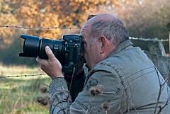 Fotografen in Aktion 7 (DianaFE) Tags: fotograf ohr mann