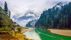 Dream Land (AQAS) Tags: pakistan mountains beautiful clouds landscape waterfall scenery heaven village valley rivers streams kashmir heavenlybeautiful