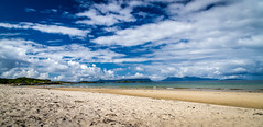 Camusdarach Beach, Arisaig , Lochaber, Scotland (Superali007) Tags: blue summer sky beach beautiful clouds canon landscape coast scotland sand scenic scottish coastal ecosse lochaber camusdarach camusdarachbeach scenicsnotjustlandscapes canon7d efs1585mmf3556isusm efs1585mm