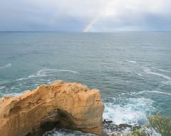 Rainbow (gije_cho) Tags: travel blue sea seascape nature landscape rainbow australia photogaphy gijecho
