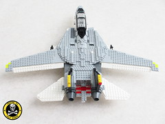 VF-84 Jolly Rogers F-14A Tomcat (Mad physicist) Tags: fighter lego jet usnavy tomcat grumman jollyrogers f14a vf84