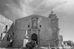 Erice (Lord Seth) Tags: 2015 chiesadisangiuliano d5000 erice lordseth sicilia bw biancoenero borgo italy medievale nikon