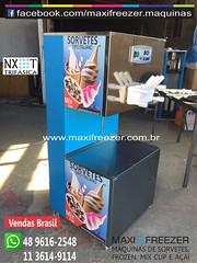 Mquina de Sorvete NXT - Maxi Freezer (Mquinas de Sorvete Maxi Freezer do Brasil) Tags: cup milk mix mcflurry shakes lanamento negcio sorvetes lucrativo