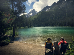 Leigh - String Lake (ratulm) Tags: lake mountains landscape outdoor jenny string tetons leigh iphone