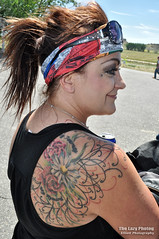 June 18 2016 - Sheila's beautiful ink (lazy_photog) Tags: beautiful tattoo bar ink hospital photography motorcycles run foundation poker lazy badlands wyoming saloon sheila elliott shortys washakie photog lander riverton thermopolis worland shoshoni boysen 061816keithpokerrun