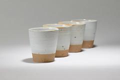 Tea-Bowl-white-brown-003 (cdkceramic) Tags: white cup ceramic tea bowl   cdkceramic
