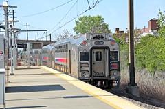 Bye Bye (craigsanders429) Tags: platforms trainstations stations catenary newjerseytransit northeastcorridor passengertrains passengercars commutertrains newarkairportstation