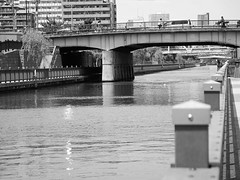 IMGP0670 (bosscoff) Tags: bridge japan river tokyo pentax narrows sss   mx1    pentaxricoh