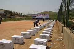Emergency Relief prepared for displaced families in Sulaymaniyah, Iraq (Ummah Welfare Trust) Tags: poverty children war islam iraq relief hunger muslims humanitarian kurdistan العراق welfare humanitarianism ummah عێراق