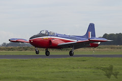 Jet Provost T.3 XN637 (Newdawn images) Tags: jetprovost jet provost t3 xn637 gbkou trainer aviation aircraft airplane aeroplane plane royalairforce raf military militaryjet churchfenton canonef100400mmf4556lisusm canoneos6d