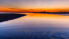 La calma del ocaso, en El Portil... (jmmorahu (Jos Manuel Mora Huerta)) Tags: playa puestasdesol todas puntaumbra botala playasymarismas