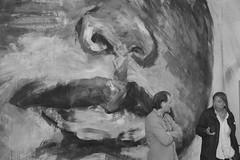 Thierry Martel et Yan Pei-Ming, le restaurateur et l'artiste (Michel Seguret Thanks all for 8.900 000 views) Tags: france art modern painting nikon artist arte expo kunst sete chinese visit moderne peinture exposition pro chinois triptyque salle visite d800 fresque artiste herault restauration yanpeiming contemporain seguret peiming francochinois michelseguret peiminginaugurationexpositionlycepeinturepaintingart contemporainmichel