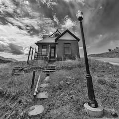 No Solicitors (ajschroetlin) Tags: light house abandoned colorado post victor mining lightpost cripplecreek ajschroetlin miningcountry