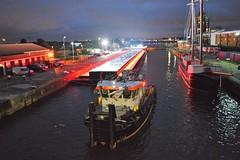 Virgin Media promo test (2) @ KGV 04-07-16 (AJBC_1) Tags: kgvlock kinggeorgevlock gallionspoint northwoolwich newham londonboroughofnewham royaldocks londonsroyaldocks eastlondon docklands london england uk livettsgroup bennettsbarges pushertug tug tugboat boat vessel felix ©ajc dlrblog nikond3200 prstunt pr virginmedia bethefastest navtug18ts navconsult schramm group ajbc1