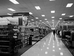 1315 this afternoon, Target, Smokey Point (monsieurpotts) Tags: bw shopping target overwhelming smokeypoint bigbox 98223