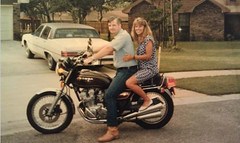 "Young Bob on his Motorcycle • <a style=""font-size:0.8em;"" href=""http://www.flickr.com/photos/78874535@N07/8727959165/"" target=""_blank"">View on Flickr</a>"