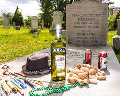 The Great Gatsby:  Grave of F. Scott Fitzgerald (ehpien) Tags: usa sony maryland cybershot zelda thegreatgatsby rockville gatsby rx100 dsc03823 fscott 3652013 23may2013