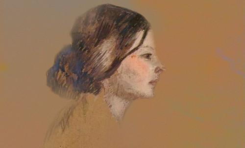"Las Madeleines escuchando la soleada soledad, descripciones de Henri de Toulouse Lautrec (1889) y Pablo Picasso (1904). • <a style=""font-size:0.8em;"" href=""http://www.flickr.com/photos/30735181@N00/8815710756/"" target=""_blank"">View on Flickr</a>"