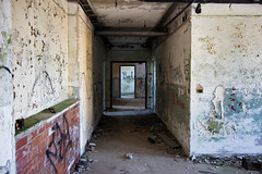 Fire Exit — Common Rooms (alexsap) Tags: sky usa army ruins room military liguria navy american former dormitory finale past murales base nato barrack dismissed militare