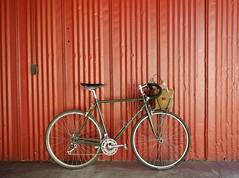 "Capricorn ""Roamer"" (guidedbybicycle) Tags: road leather bike bicycle bag paul handmade steel m canvas adventure handlebar custom components brooks racer waxed nitto seatpost randonnee randonneuring lighttouring"