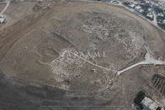 Tell el-Husn (APAAME) Tags: bronzeage flight2 flying2006 jadis2321001 megaj2681 roman tall tallalhusun tell tellelhusn city digitalcamera town aerialarchaeology aerialphotography middleeast airphoto archaeology ancienthistory