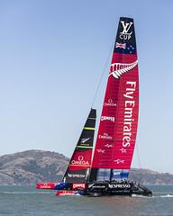 Emirates Team New Zealand (NMB.Photography) Tags: new cup training bay team san francisco sailing yacht sailors racing luna emirates zealand catamaran americas rossa foiling 2013 hydrofoiling ac72