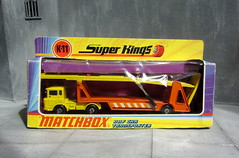Matchbox Toys Super Kings DAF Car Transporter No. K11 1971 - 2 Of 10 (Kelvin64) Tags: car toys 1971 no super kings matchbox transporter daf k11