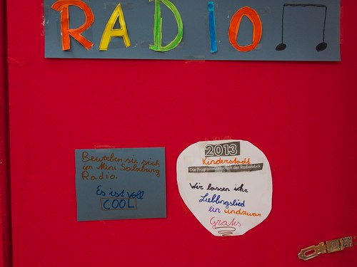 Radiofabrik @ Kinderstadt 2013 (City of Kids)