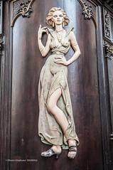 Wooden Redhaired Lady ? (steff808) Tags: nikon prague prag praha praga czechrepublic ceskarepublika republicacheca karlova republiquetchèque nikond90 nikon1685 cafféperlei