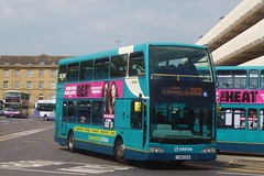YJ08EEB Arriva Yorkshire West Volvo B9TL 1804 (Sharksmith) Tags: bus busstation huddersfield arriva 1804 route202 volvob9tl arrivayorkshire arrivayorkshirewest darwenolympus yj08eeb