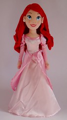 Ariel Plush Doll 21'' - Disney Store - First Look - Full Front View #2 (drj1828) Tags: new pink ariel us release plush gown disneystore firstlook personalphoto 21inch disneyprincessplushdollcollection thelittlemermaidplushcollection