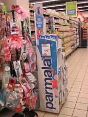 Xanita Parmalat Merchandiser 16mm X-Board