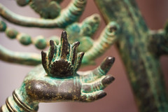 Art Institute of Chicago - detail of bronze Shiva as Lord of the Dance (Nataraja), India, Tamil Nadu, Thanjavur, Chola period, c. 1000.jpg (opacity) Tags: sculpture chicago art statue museum illinois il artinstituteofchicago artmuseum shiva nataraja artinstitute aic asianart lordofthedance asiancollection top2013