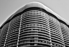 Hive Mind - London City Office Life (Simon & His Camera) Tags: city urban blackandwhite bw abstract building london texture geometric monochrome lines metal architecture composition contrast office pattern symmetry lookingup minimalism curve simonandhiscamera