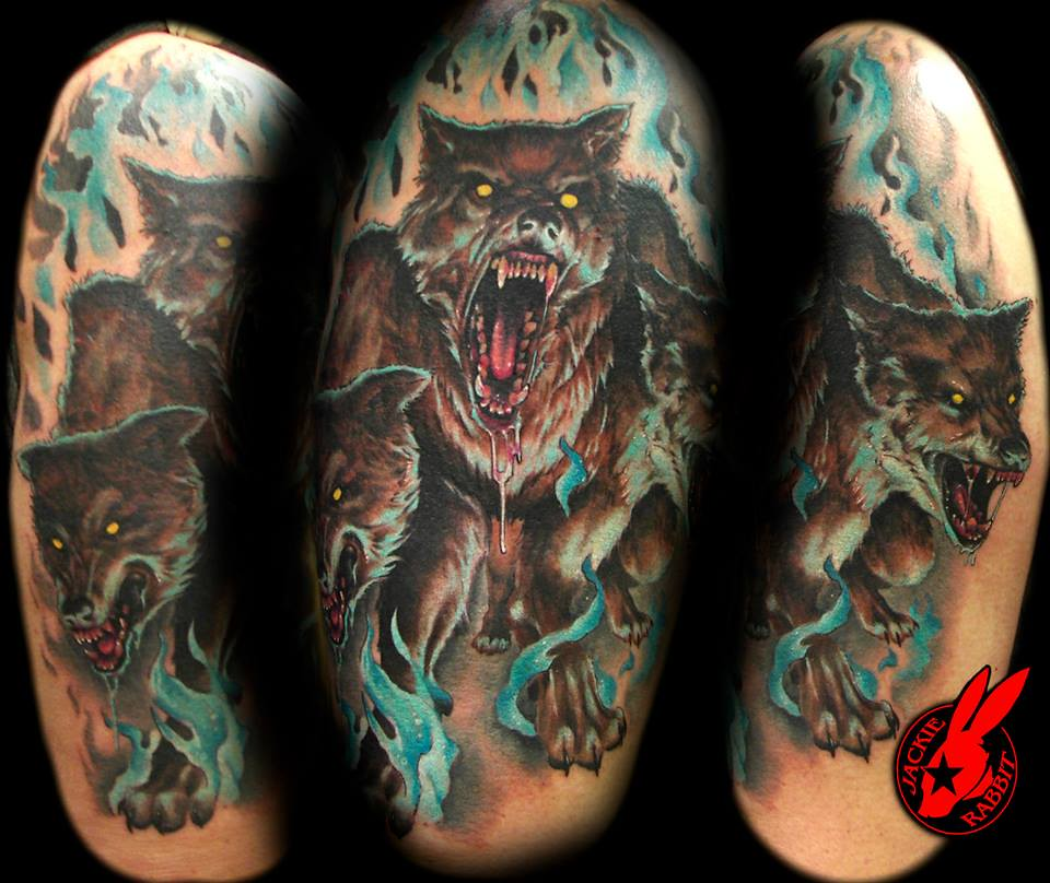 the world 39 s best photos of cerberus and tattoo flickr hive mind. Black Bedroom Furniture Sets. Home Design Ideas