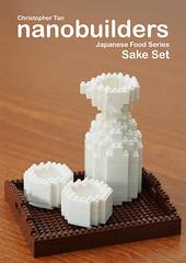 nanobuilders - Japanese Food Series - Sake (inanoblock) Tags: food japan sushi toy japanese construction lego sashimi bricks sake ramen bento instructions blocks build wasabi temaki nanoblock ナノブロック nanoblocks