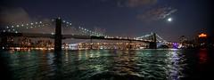 Brooklyn Bridge under full moon (c. doerbeck) Tags: nyc newyorkcity bridge newyork manhattan sony tokina brooklynbridge cityatnight 1116 a900 christophdoerbeck